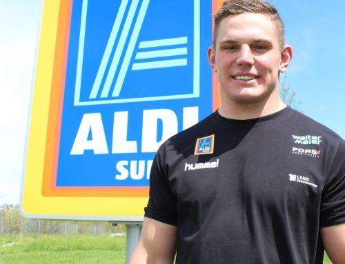 ALDI SUISSE sponsert Schwingtalent Remo Käser