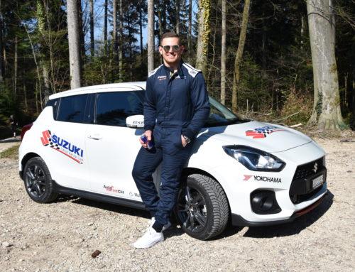 Remo Käser als Gaststarter am Suzuki Racing Cup 2019